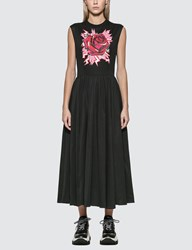 Prada Jwp St. Rose Graphic Print Dress Black