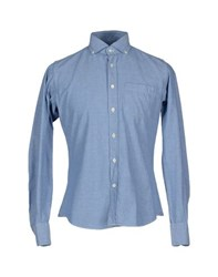 Slowear Shirts Shirts Men Azure