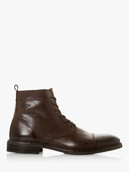 Bertie Cornfield Leather Ankle Boots Tan