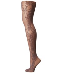 Wolford Net Lace Tights Mole Hose Brown
