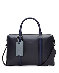 Ted Baker Leather Document Bag Navy