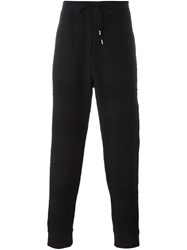 Chalayan Textured Track Pants Black
