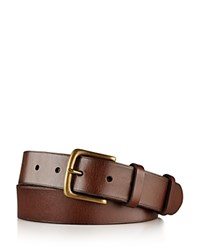 Polo Ralph Lauren Leather West End Belt Brown