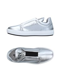 Dirk Bikkembergs Sport Couture Sneakers Silver
