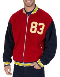 Nautica The Lil Yachty Collection By Bomber Jacket Red