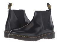 Dr. Martens Bianca Low Shaft Zip Chelsea Black Polished Smooth Women's Pull On Boots
