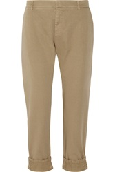 Band Of Outsiders Cotton Twill Tapered Pants Nude