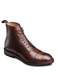Allen Edmonds First Avenue Oxford Boots Brown Grain