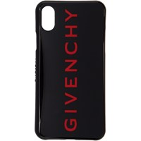 Givenchy Black And Red Logo Iphone X Xs Case