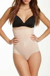 Heavenly Secrets High Waist Tummy Control Brief Beige