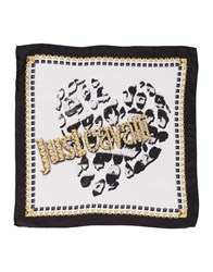 Just Cavalli Square Scarves Black