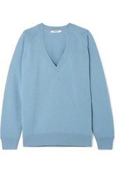 Givenchy Wool And Cashmere Blend Sweater Blue