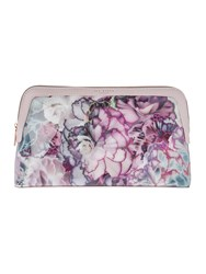 Ted Baker Corren Large Make Up Bag Light Pink