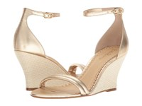 Lilly Pulitzer Jenna Wedge Gold Metallic Women's Wedge Shoes