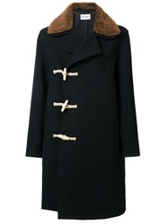 Our Legacy 'Extended' Duffle Coat Black