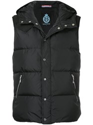 Guild Prime Quilted Gilet Nylon Feather Goose Down Black