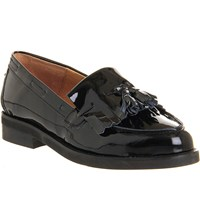 Office Extravaganza Leather Loafers Black Patent Leather