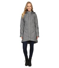 The North Face Temescal Trench Coat Tnf Medium Grey Heather Herringbone Women's Coat Olive
