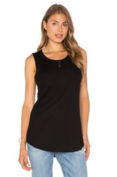 Assembly Label Luxe Ribbed Tank Black