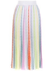 Cecilia Prado Knit Alice Midi Skirt Multicolour
