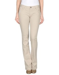 Trussardi Jeans Denim Pants Beige