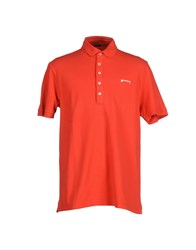 Pirelli Pzero Topwear Polo Shirts Men Red