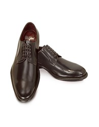 Fratelli Borgioli Cricket Shiny Brown Derby