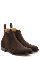 Churchs Suede Ankle Boots Brown