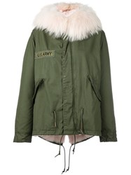 As65 Military Parka Green