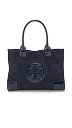 Tory Burch Nylon Mini Ella Tote French Navy