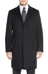 Men's Big And Tall Cardinal Of Canada Cashmere Overcoat Charcoal