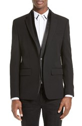 Givenchy Men's Satin Shawl Sport Coat