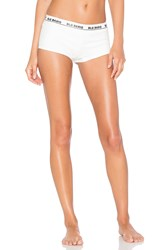 Blq Basiq Ponte Boy Short White