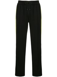 Kenzo Side Stripe Track Pants Black