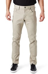 7 Diamonds Men's Brushed Twill Five Pocket Pants Tan