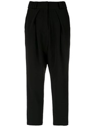 Olympiah Tapered Trousers Black