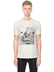 Matchless London Slim Fit Icon Marlon Cotton T Shirt