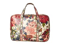 Sakroots Artist Circle Critter Travel Case Cream Flower Power Travel Pouch Multi