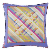Etro Maddalena Multicoloured Cushion 45X45cm Design 5