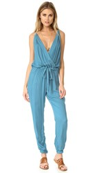 Young Fabulous And Broke Rodney Jumpsuit Turkish Blue