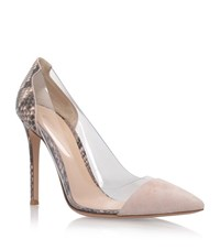 Gianvito Rossi Calabria Snakeskin Courts Female Pink