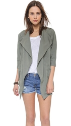James Jeans Cocoon Dolman Sleeve Jacket Stonehenge
