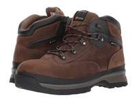 Timberland Euro Hiker Alloy Safety Toe Waterproof Brown Full Grain Leather Men's Hiking Boots