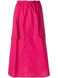 Sofie D'hoore Casual Day Skirt Pink And Purple