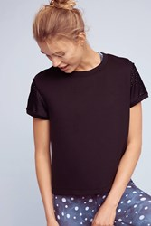 Anthropologie Fly Away Swing Top Black