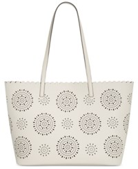 Inc International Concepts Melly Starburst Tote Only At Macy's White
