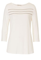 Betty Barclay Embellished T Shirt White