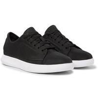 Under Armour Sportswear Club Nubuck And Canvas Sneakers Black
