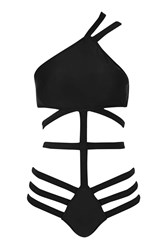 Strappy Swimsuit By Rare Black