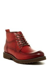 Vintage Foundry Leathal Apron Toe Boot Red